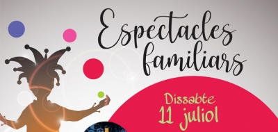 Espectacles familiars juliol 2020 banner
