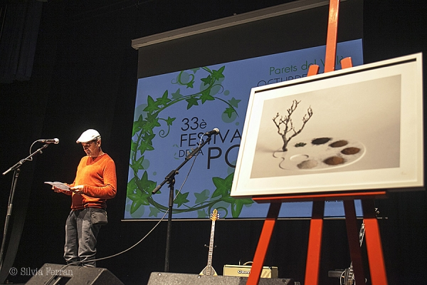 Poema visual del 33è Festival de la Poesia l'any 2020
